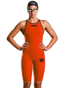 Arena Powerskin Carbon Pro Mark 2 Orange Kneelength