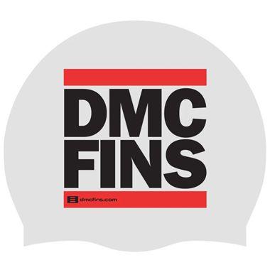 FREE DMC White Swim Cap