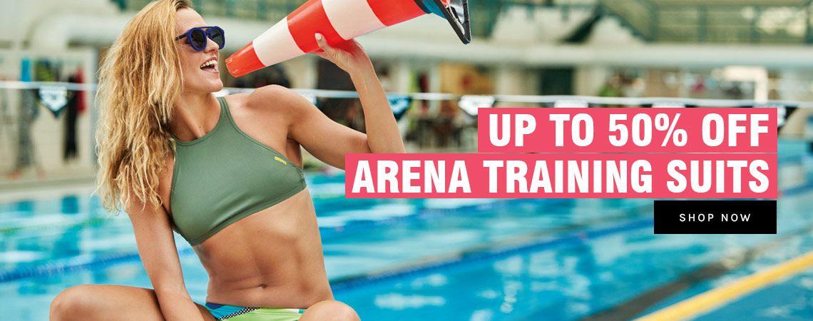 50% Off Arena Chlorine Resistant Swimwear