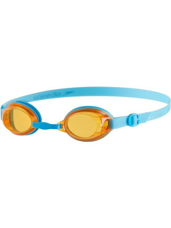 Jet Junior Tinted Goggles - Blue & Orange