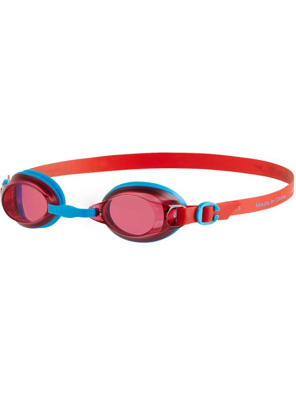 Jet Junior Tinted Goggles - Lava Red & Blue