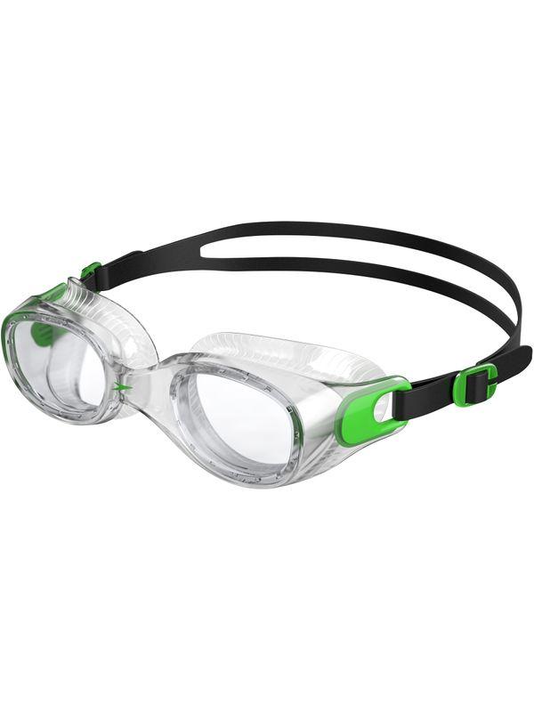 Futura Classic Clear Goggles - Fluro Green & Clear