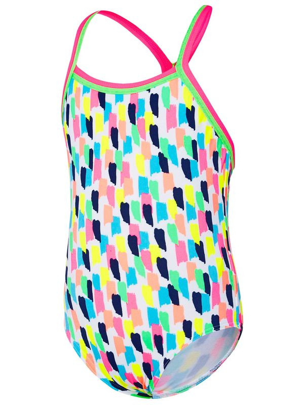 Speedo Paint Toddler Girls One Piece