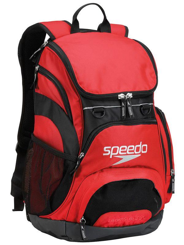 Speedo Teamster Backpack Formula One Red 1