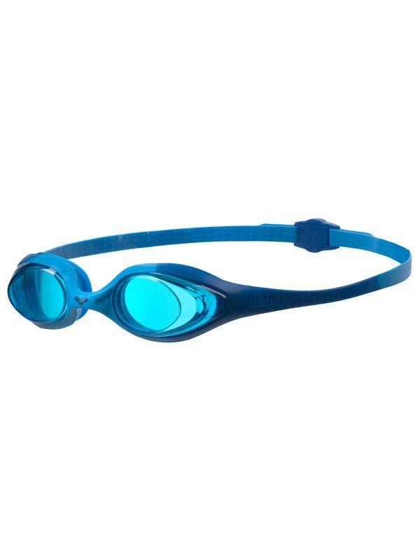 Arena Spider Jnr Blue & Light Blue Lens Goggles