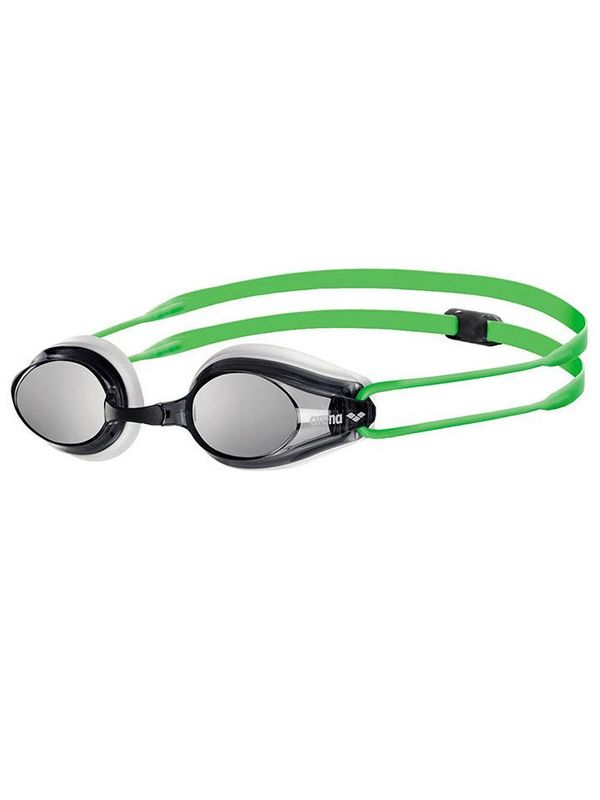Tracks Smoke Goggles - White & Green