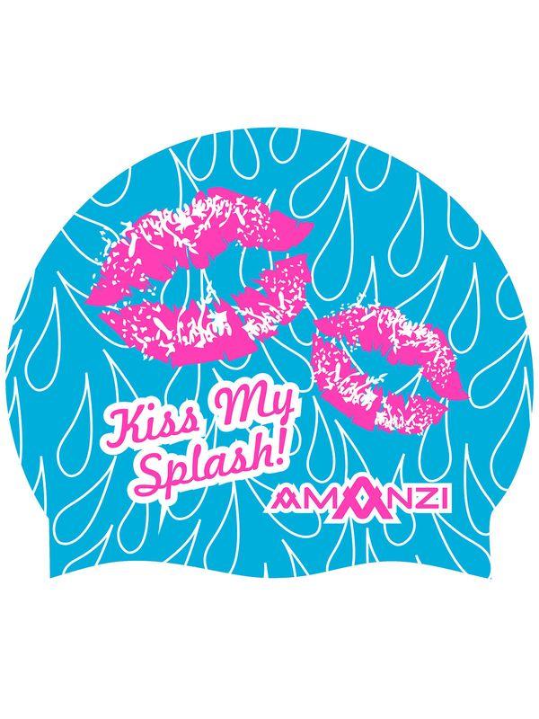 AMANZI Kiss My Splash Swim Cap