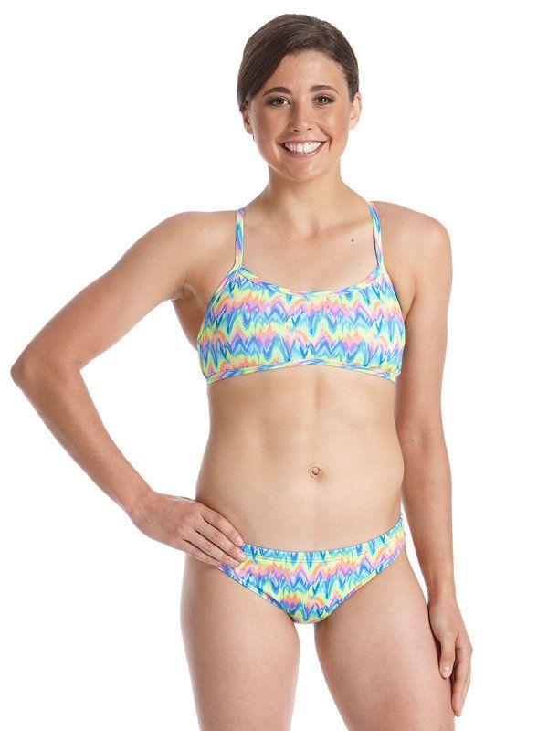 Aurora Womens Sports Bikini Top