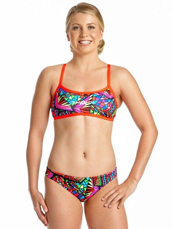 Candy Puzzle Womens Sports Bikini Briefs