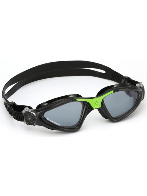 Kayenne Black, Green & Smoke Lens Goggles