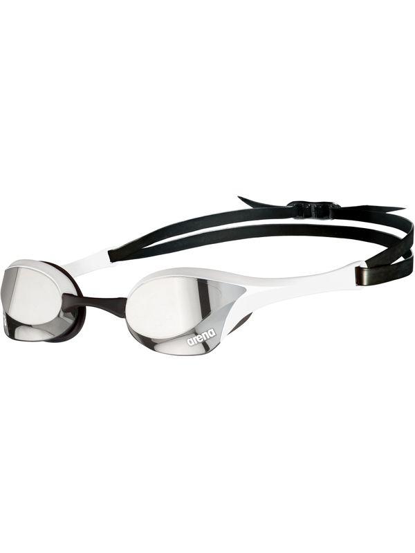 Cobra Ultra Swipe Mirror Goggles - Silver & White