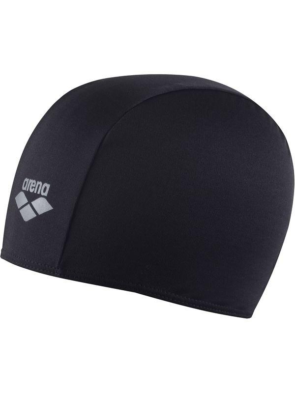 Polyester Junior Swim Cap - Black
