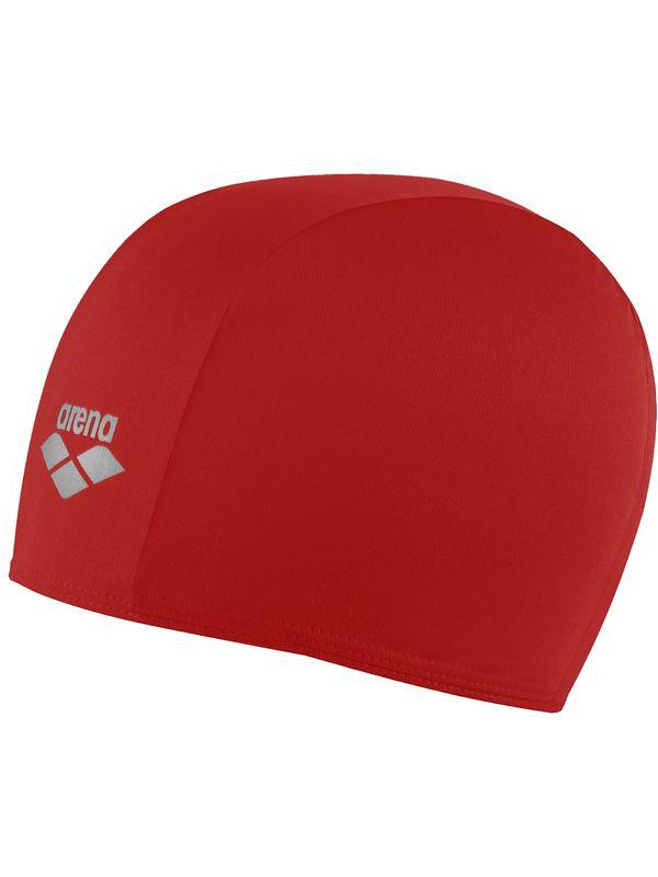 Polyester Junior Swim Cap - Red