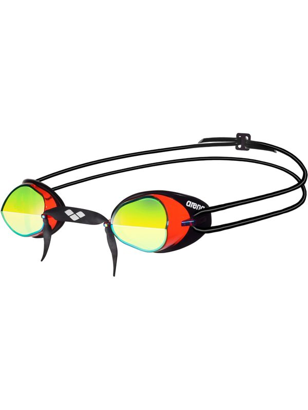 Swedix Mirrored Goggles - Black