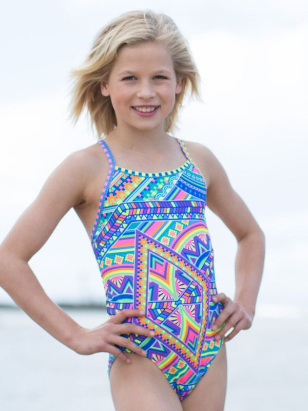AMANZI Tribal Vibe Girls One Piece Lifestyle