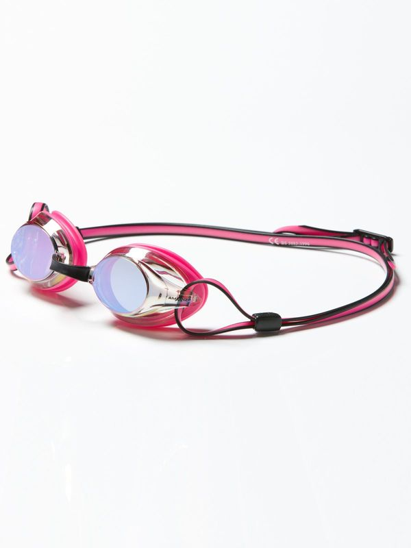 Axion Pearl Pink & Black Mirrored Lens Goggles