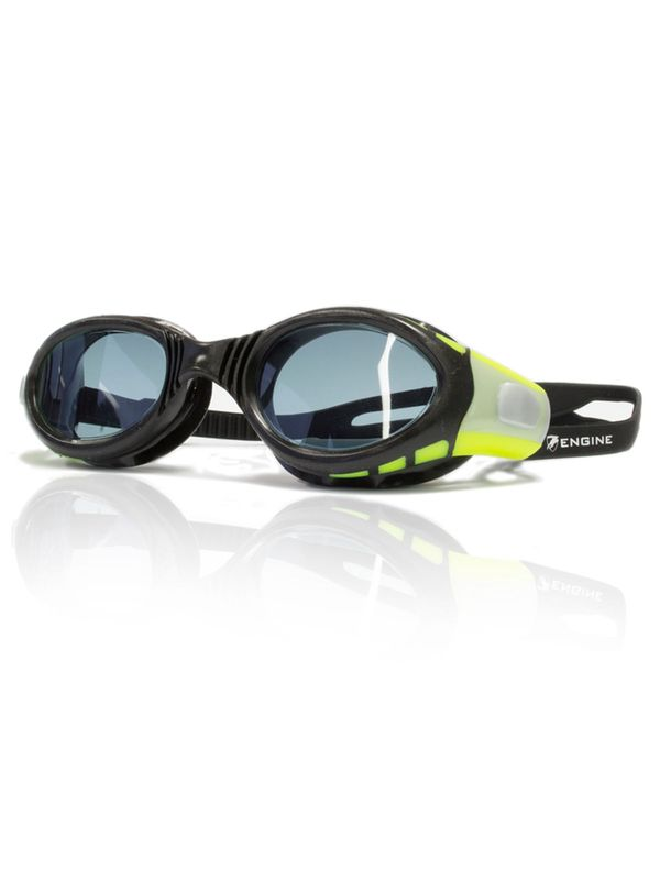 Ocean Black & Green Smoke Lens Goggles