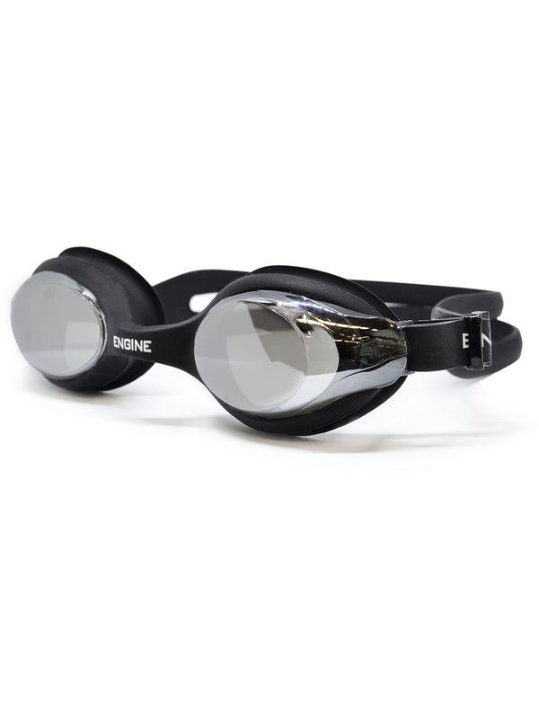 Warrior Mirrored Goggles - Black