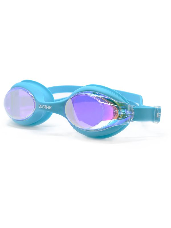 Warrior Mirrored Goggles - Blue