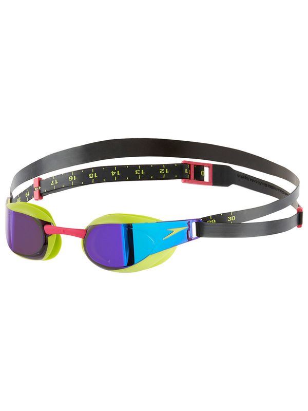 Fastskin Elite Mirror Green & Purple Goggles