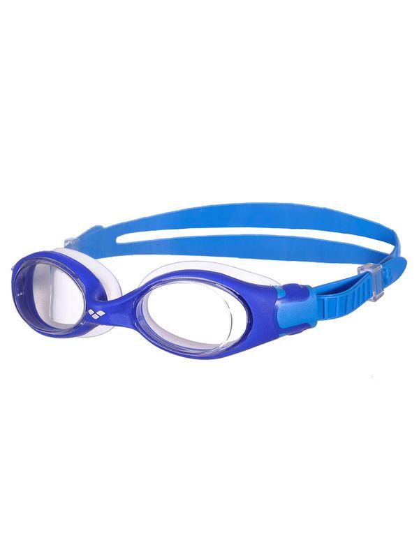 Arena Freestyle Jnr Blue & Aqua Clear Lens Goggles