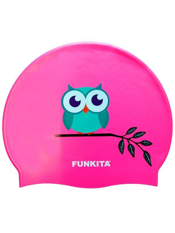 Funkita Owl Silicone Swimming Cap