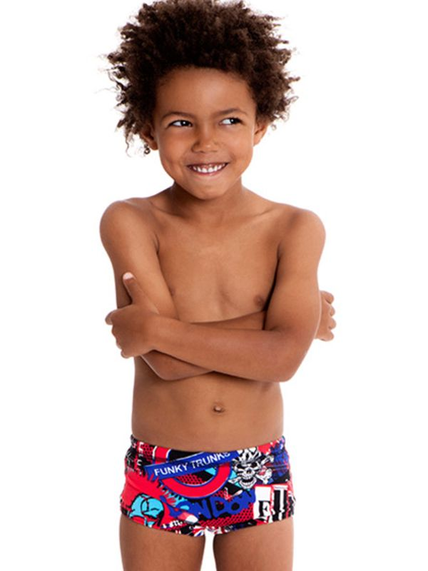 Funky Trunks Patriot Rebellion Toddlers Trunks