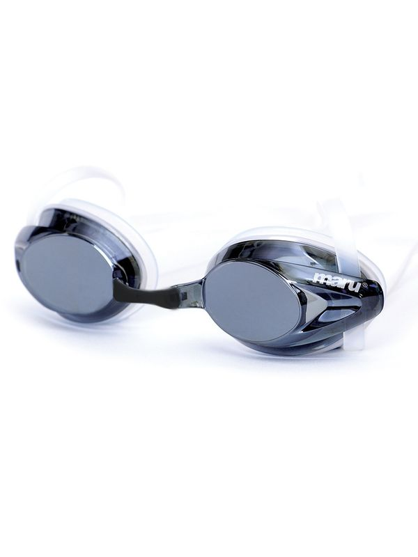 Maru Pulse Mirror Silver Swimming Goggles