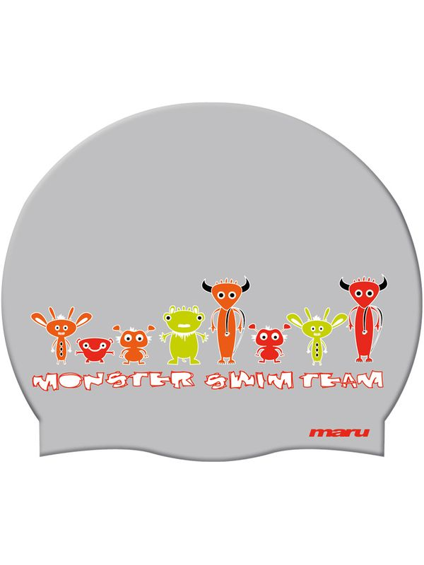 Maru Monster Swim Team Swim Cap