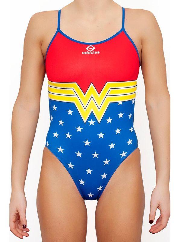 Odeclas Supergirl One Piece Swimsuit