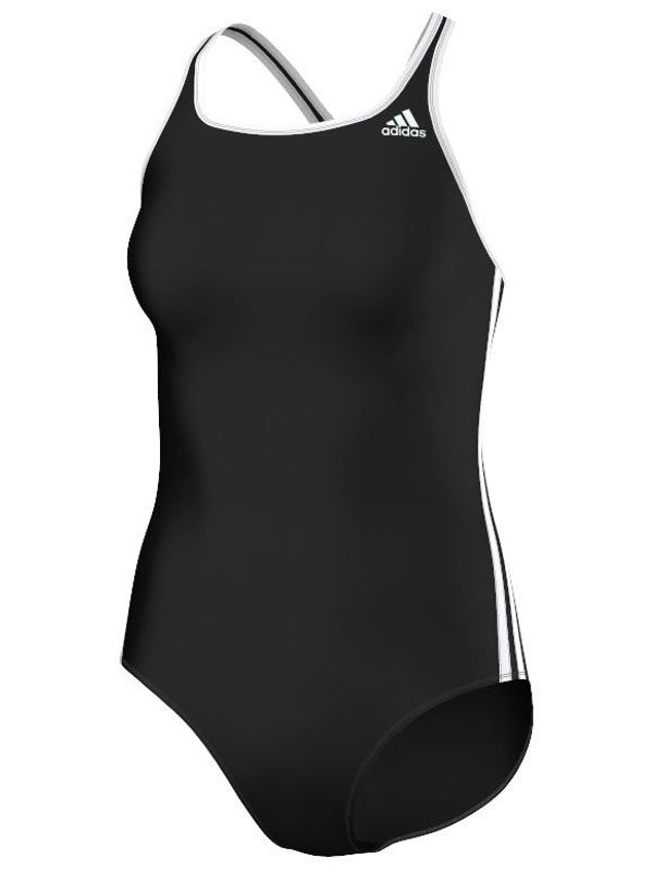 Adidas 3 Stripe Womens One Piece 1
