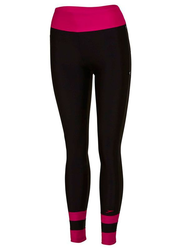 Black & Rose Womens Swim Leggings