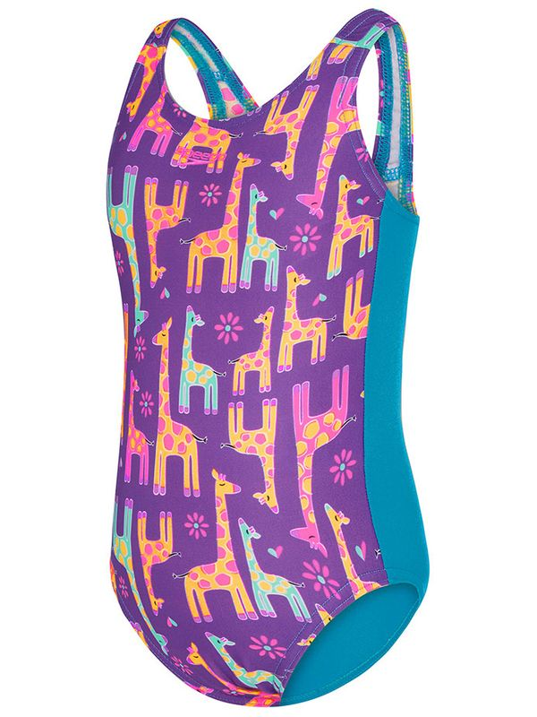 Giraffe Family Toddler Girls One Piece