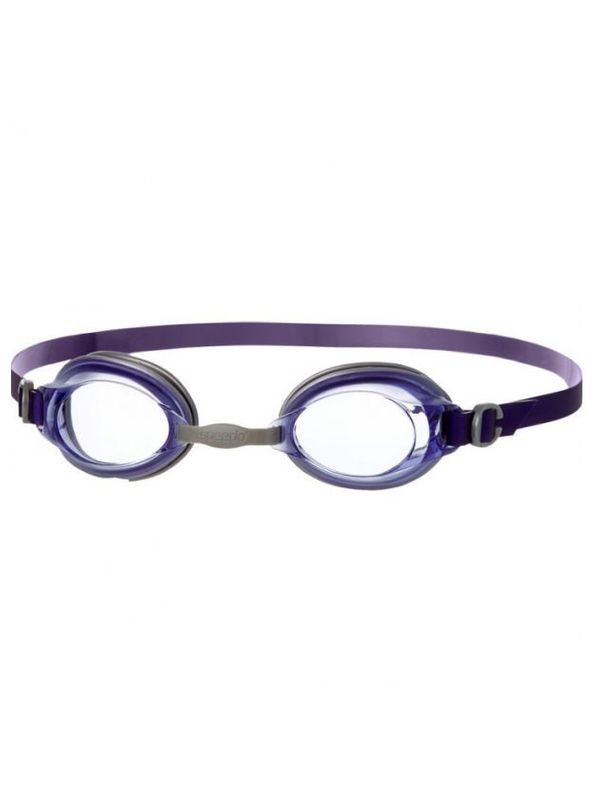 Jet Purple & Clear Goggles