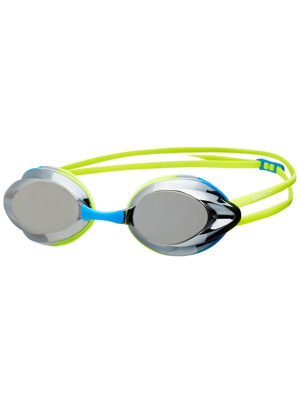 Opal Junior Fluro Yellow & Bold Blue Mirrored Lens Goggles