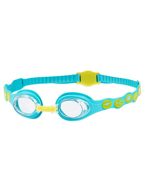 Sea Squad Clear Goggles - Teal & Yellow