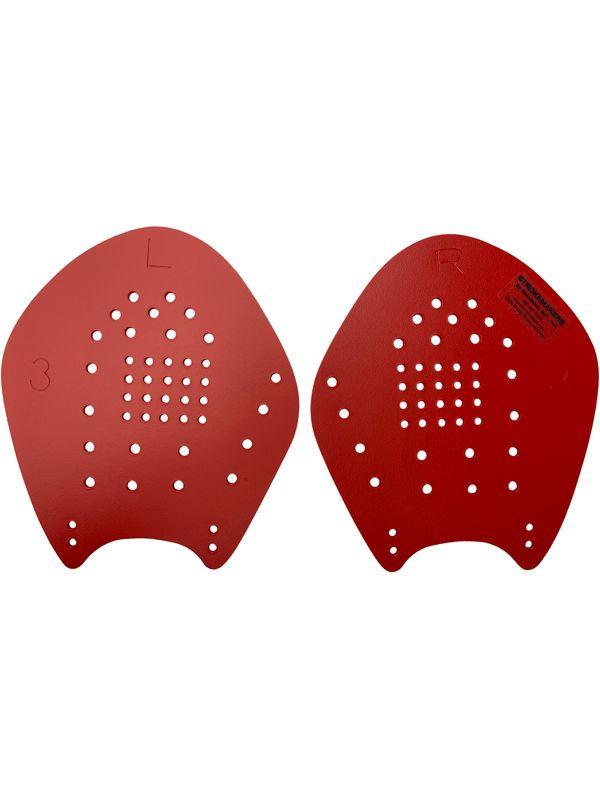 Hand Paddles - Size 3 L Red