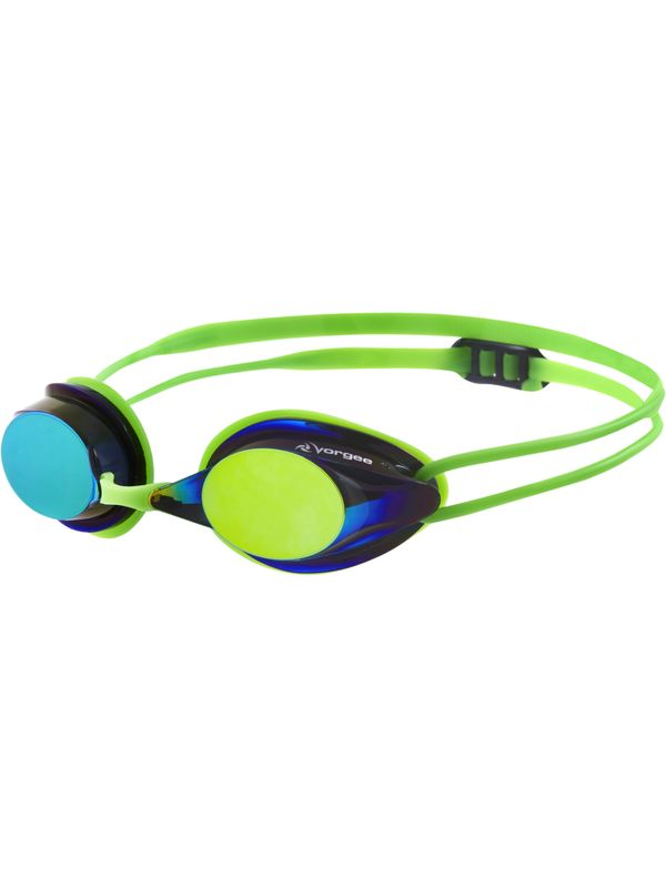 Missile Eclipse Mirrored Goggles - Fluro Green