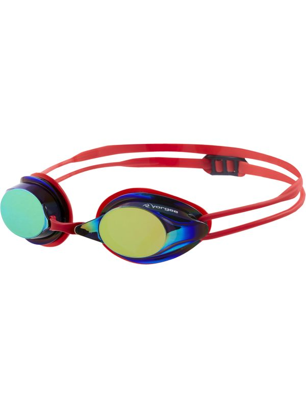 Missile Eclipse Mirrored Goggles - Red