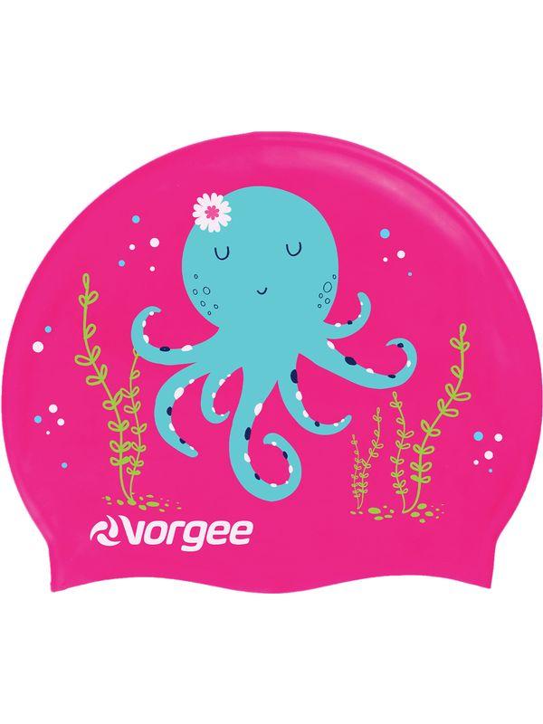 Junior Swim Cap - Octopus