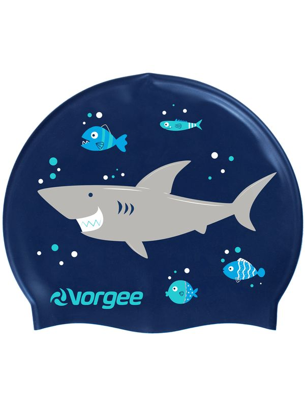 Junior Swim Cap - Shark