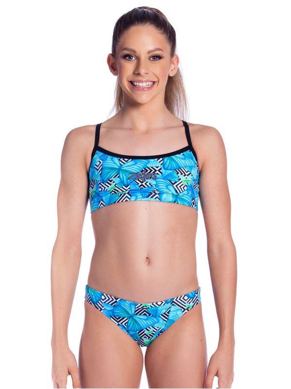Zealous Flutterby Girls Sports Bikini 1