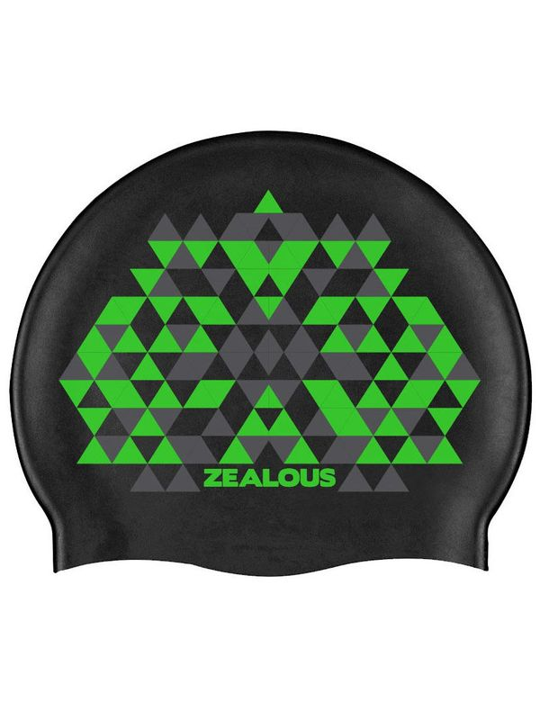 Zealous Green Rampage Swim Cap