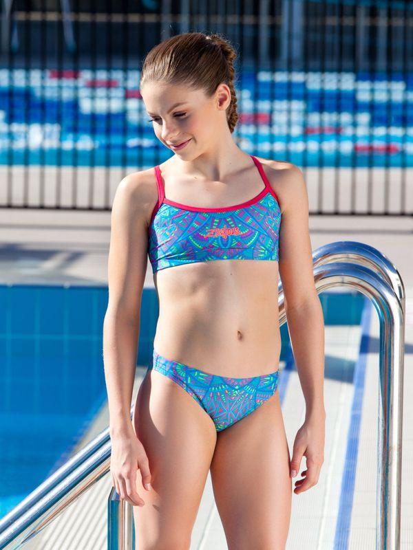 Sporty teen bikini #7