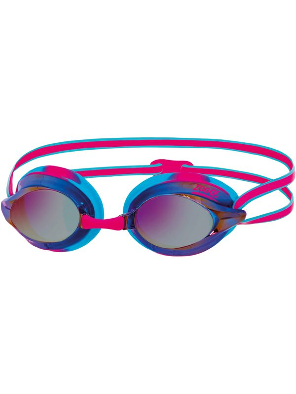 Racespex Mirrored Goggles - Blue & Pink