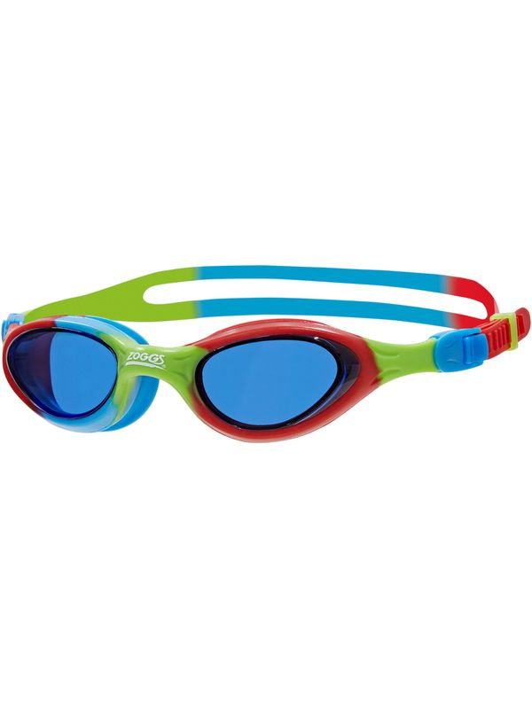 Super Seal Junior Tinted Goggles - Red, Blue & Green