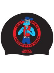 Funky Trunks Animation Nation Silicone Swim Cap