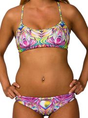 AMANZI Feathered Fantasy Womens Sports Bikini