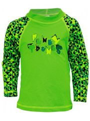 Funky Trunks Checker Splice Toddler Rash Shirt