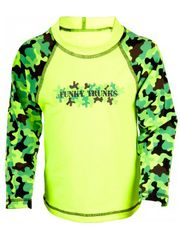 Funky Trunks Gi Mojo Toddler Boys Sleeved Rash Shirt